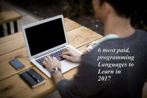 6 most paid programming language 2