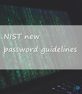 new password guidelines 1