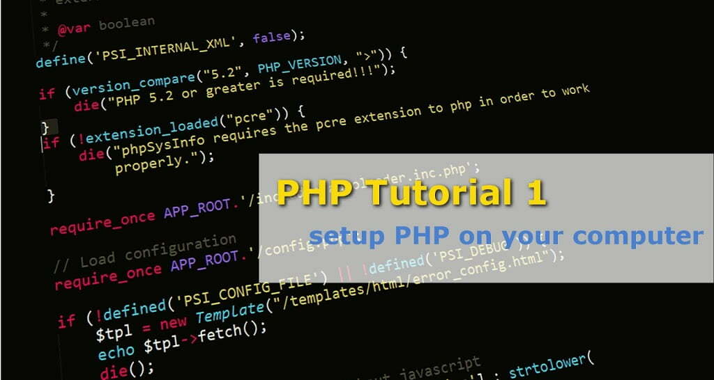 php tutorial1 1