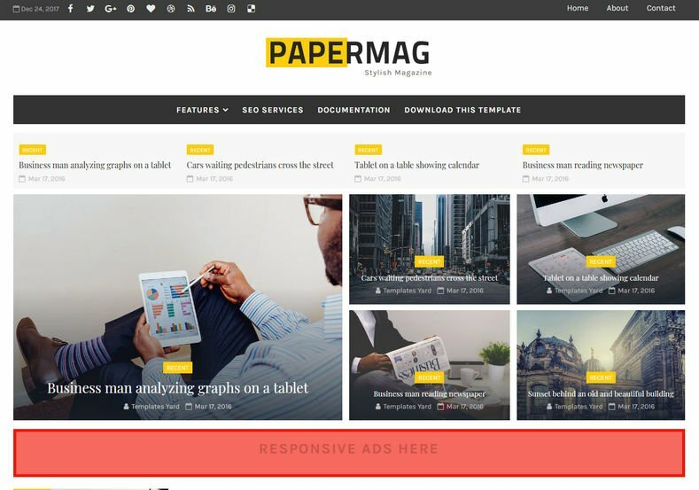 PaperMag-Blogger-Template